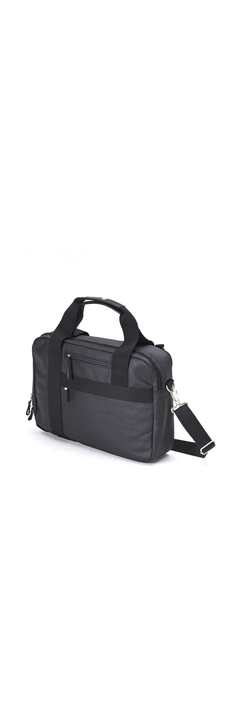 Office Bag, Organic Jet Black