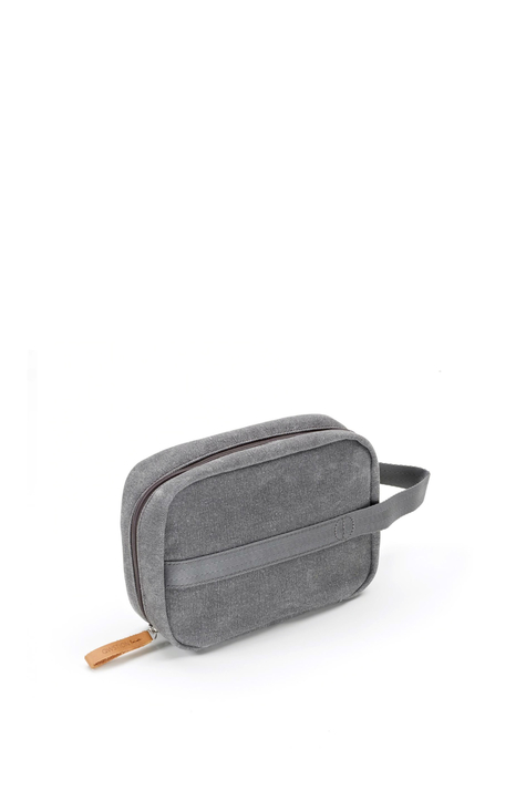 Toiletry Kit, Organic Washed Grey