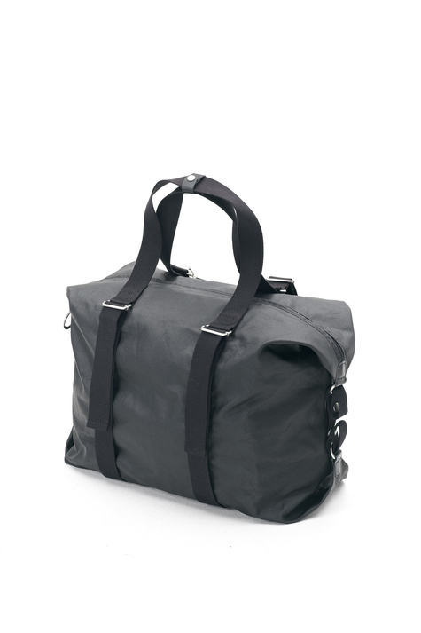 Simple Holdall, Organic Jet Black