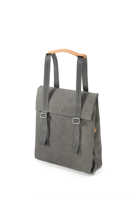 Small Tote, Washed Grey
