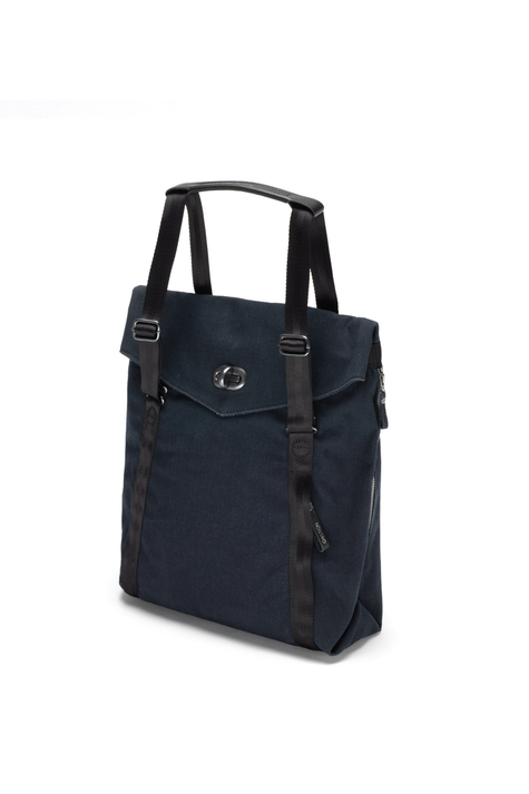 Tote Bag, Organic Midnight Blue