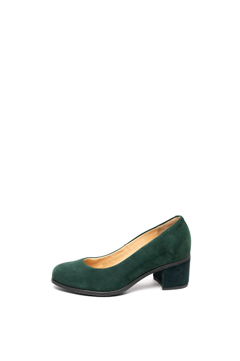 Town Pump Suede, Green