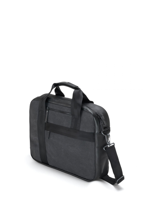 Office Bag, Graphite Leather