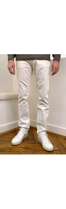 Slim Denim, Ecru