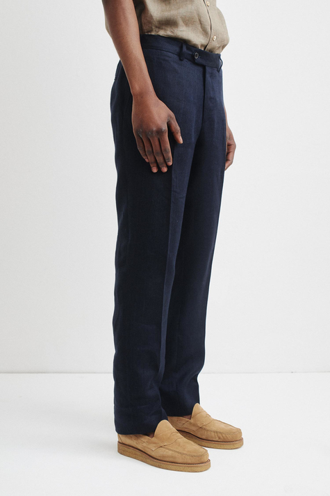 Rel. Tailored Trouser, Navy