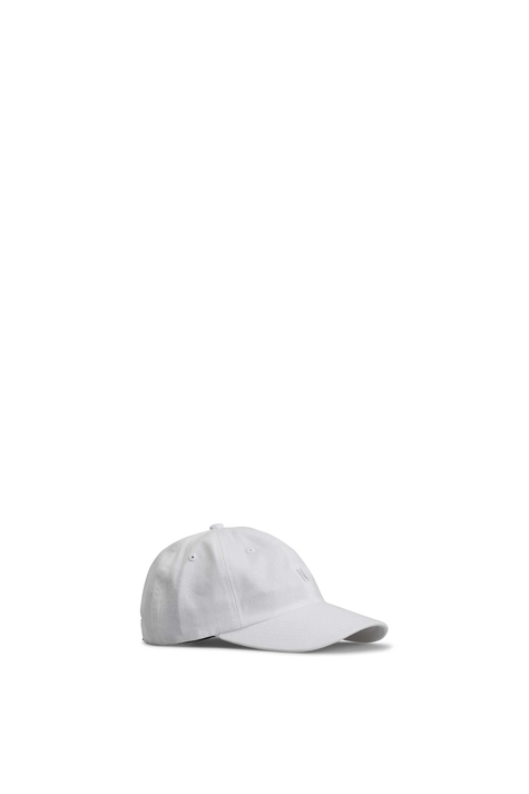 Twill Sports Cap, White