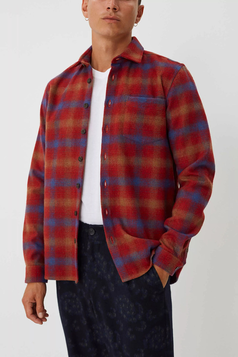 Miracle Shirt, Chinese Red Check