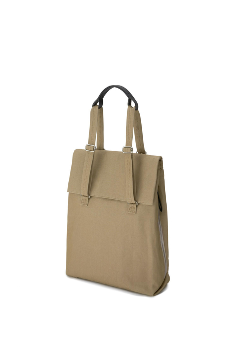 Flap Tote M, Sand