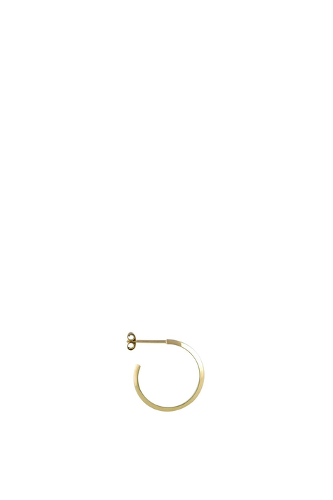Theorem Hoop, Gold plated silver