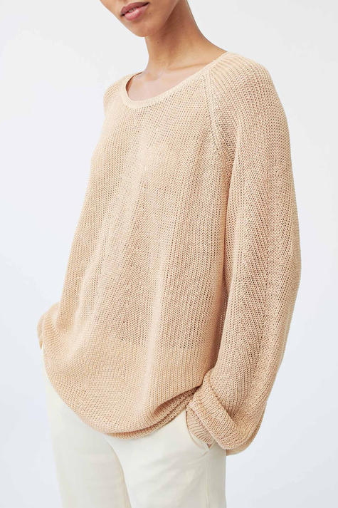 Evalyn Sweater, Bone