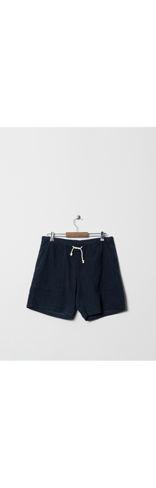 Formigal Shorts, Navy Baby Cord