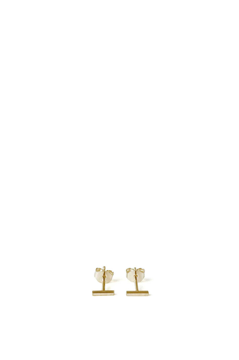 Earring FRONTIER S, Gold Plated
