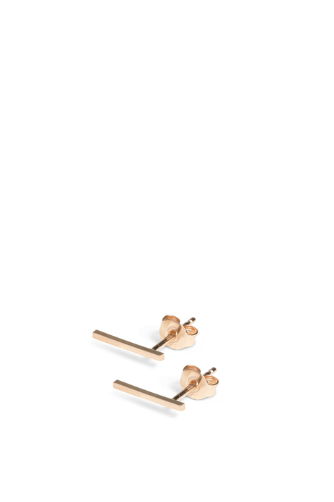 Earring FRONTIER L, Rose Plated
