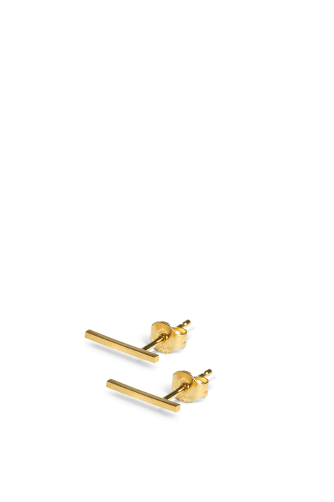Earring FRONTIER L, Gold Plated